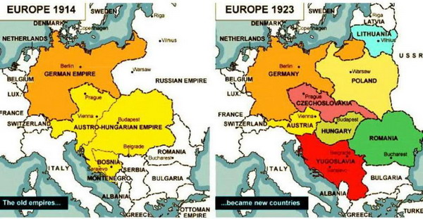 europa-1914-1924