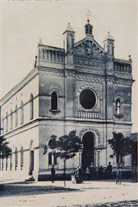 Szenci Zsinagóga - épült 1904-ben