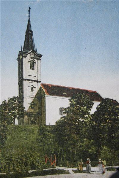 templom kerites nelkul kolorizalt