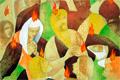 Nagy József kiállításának megnyitója