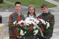 Kincskereső nyolcadikosai Nagymegyeren a Farkas Jenő szavalóversenyen és az emléktábla megkoszorúzásánál