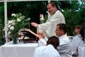 Szentmise a kápolnában