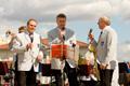 Senčanka fúvoszenekar koncertje a Húsvéti Vásár alkalmából