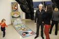 A szenci Művészeti Alapiskola kiállítása az iskola 50 éves fennállásának alkalmából