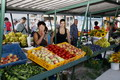 A nyári piac Szencen