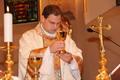 Kollárik Dávid első szentmiséje Szencen