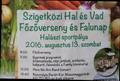 Szigetközi Hal- és Vadfőzőverseny és Falunap Halásziban