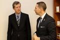 A brit nagykövet Szencre látogatott