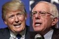 Trump és Sanders