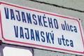 Letépték a kétnyelvű utcanévtáblát Szencen