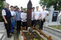 Felújították és rendbehozták Szenczi M. Albert sírját