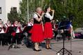 A Senčanka fúvószenekar május elsejei koncertje