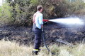 Tűzeset a vasútvonalnál