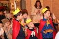 Cserkészkarácsony a templomban