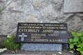 Esterházy-emléktábla leleplezése Szencen