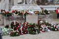 Forradalmi megemlékezés a pozsonyi Petőfi-szobornál